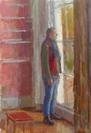 alan by the window