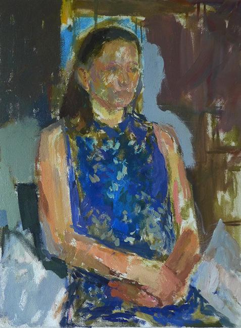 Hilda sitting