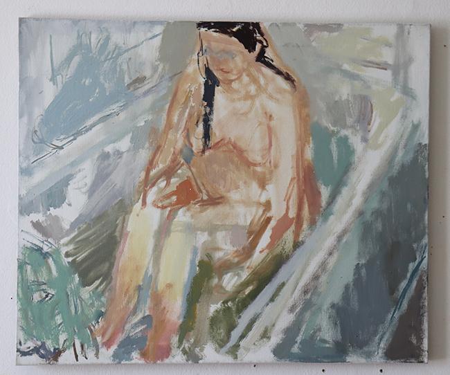 figure in the bath